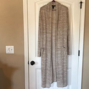 Excellent used condition cream WHbm duster.